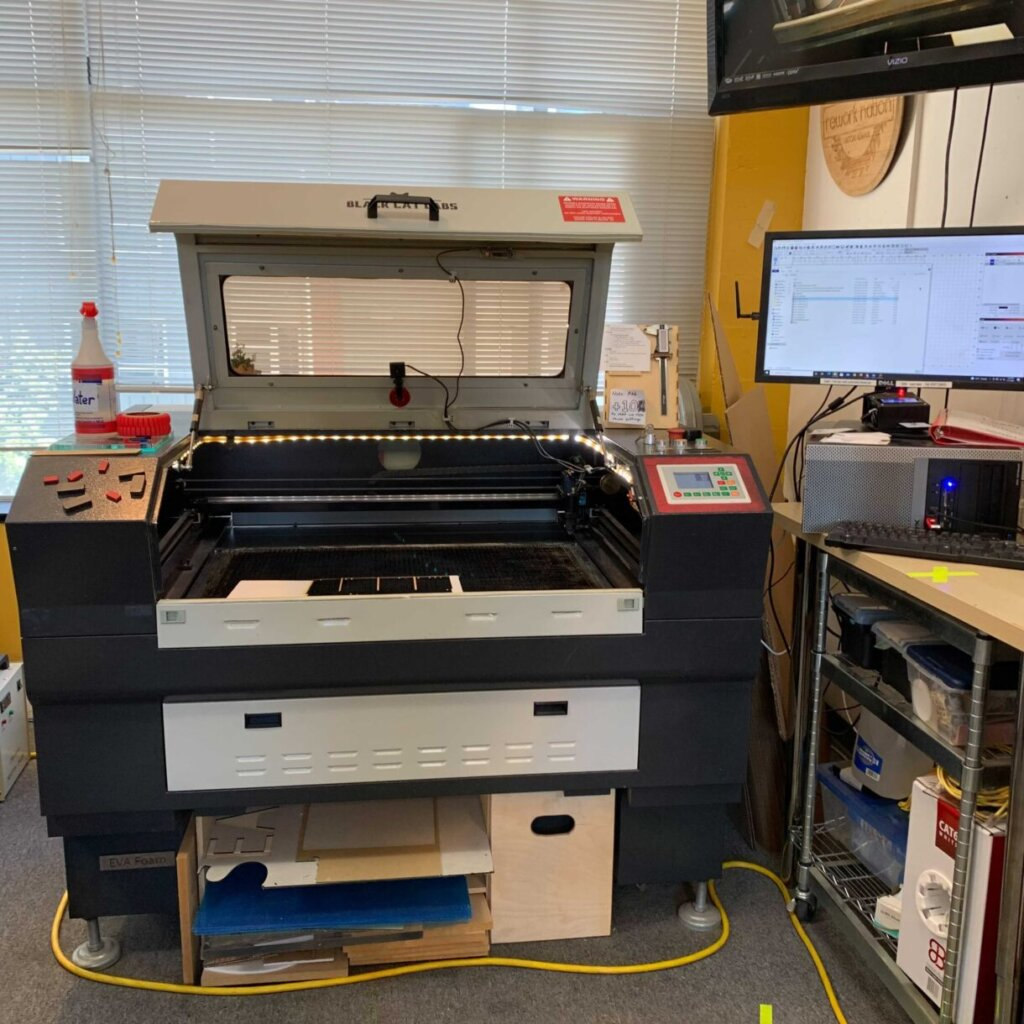 Right Laser Cutter